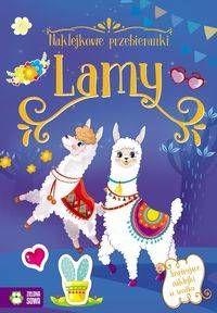 Naklejkowe przebieranki Lamy