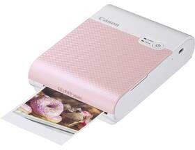 Przenośna drukarka Canon Selphy Square QX10, różowa