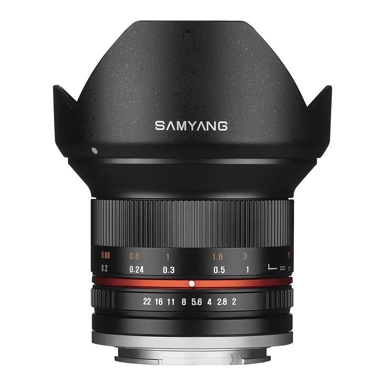 Obiektyw Samyang 12mm F2,0 Olympus micro 4/3 czarny
