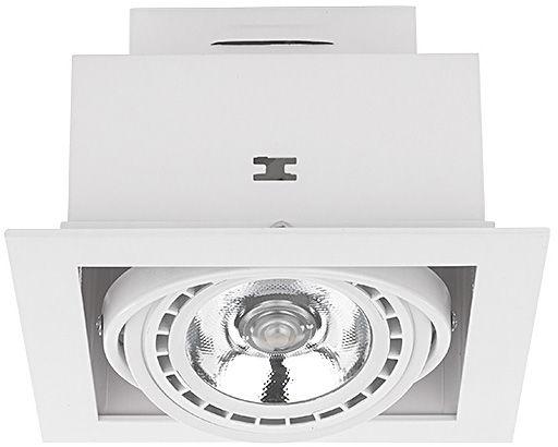 Oprawa wpuszczana Downlight ES111 9575 Nowodvorski Lighting kwadratowa biała oprawa w nowoczesnym stylu