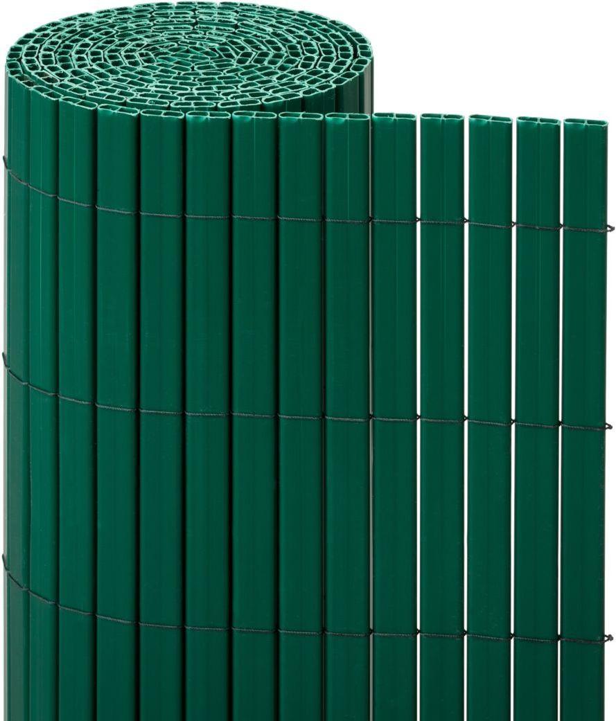 Osłona balkonowa PVC 3 m x 100 cm zielona NATERIAL