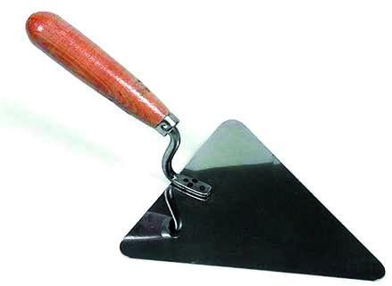 Kielnia trójkąt czarna 200mm