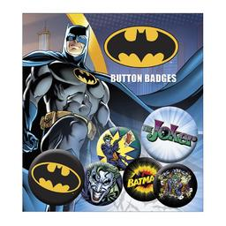 Batman - zestaw przypinek