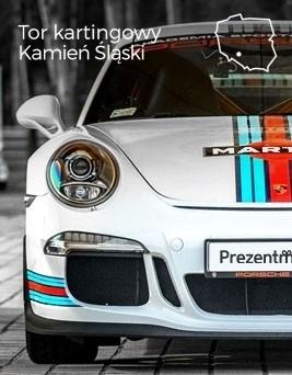 Jazda za kierownicą Porsche 911 GT3  Tor kartingowy Silesia Ring