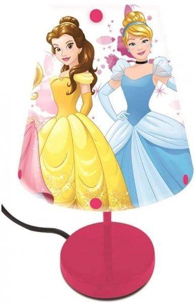 Lampka nocna disney princess biurkowa księżniczki sieciowa lexibook