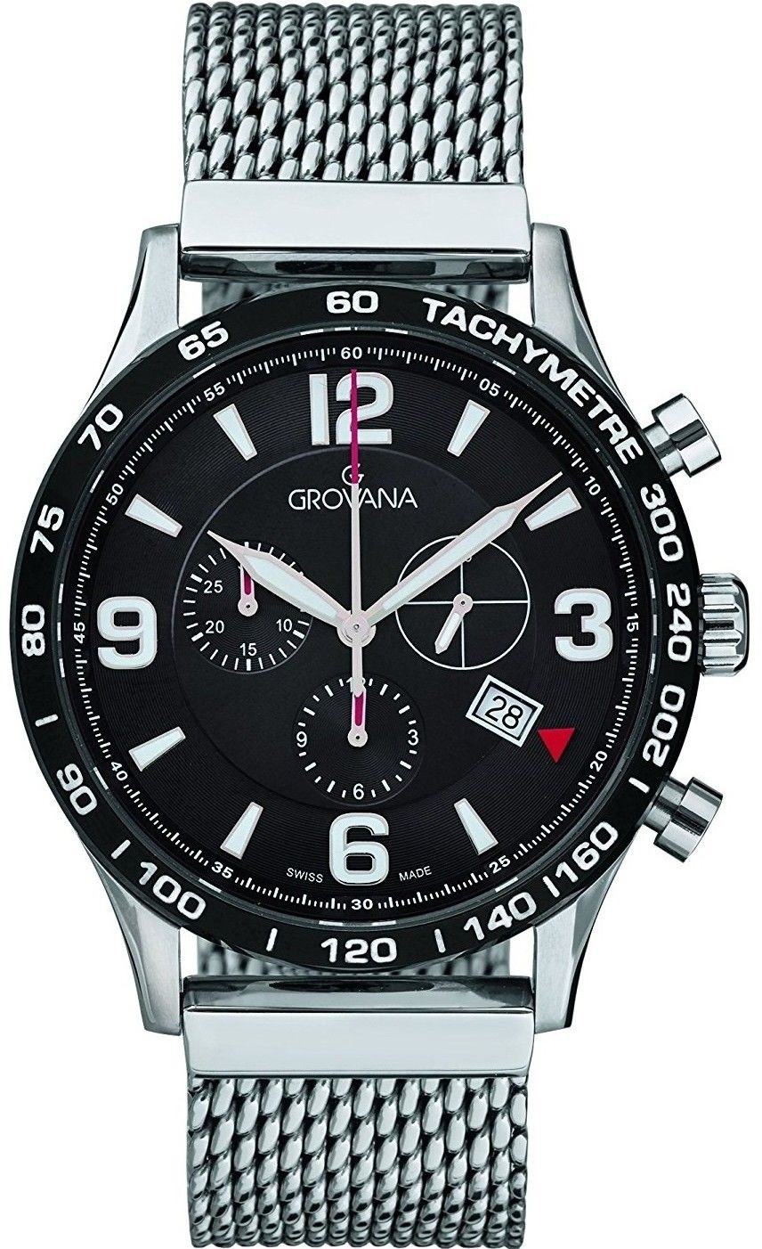 Zegarek Grovana 1745.9137 - CENA DO NEGOCJACJI - DOSTAWA DHL GRATIS, KUPUJ BEZ RYZYKA - 100 dni na zwrot, możliwość wygrawerowania dowolnego tekstu.