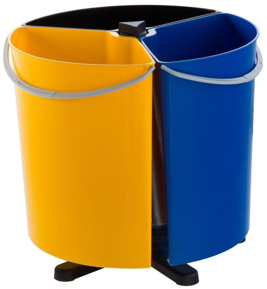 Kosz na śmieci do segregacji ECOBIN 3 x 11.7 l MULTIM