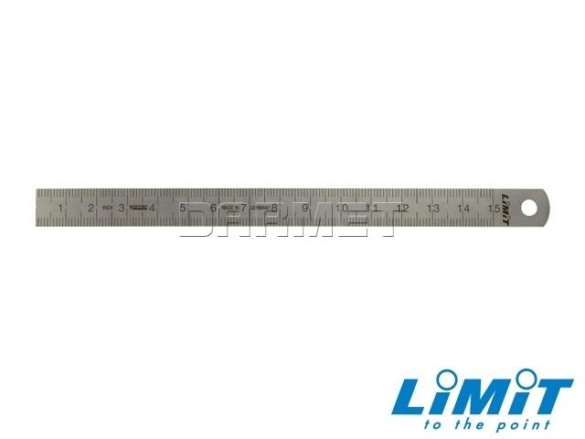 Przymiar kreskowy stalowy; 300 mm; 13x0,5 mm- Limit (2702-0403)