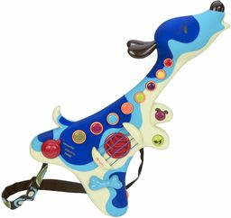 B. Toys BX1166X gitara dla dzieci  niskotonowa  instrument interaktywny  3 tryby: akustyczny, elektryczny, psy psa, guziki muzyczne  20 piosenek  2 lata +