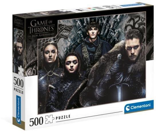 Clementoni Puzzle 500el Gra o tron. Game of Thrones 35091 (35091 CLEMENTONI)