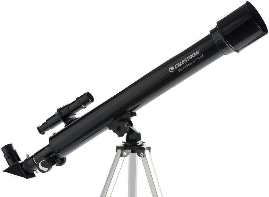Teleskop Astronomiczny Celestron PowerSeeker + Duży Statyw + Szukacz + Akcesoria + Płyta CD-ROM.