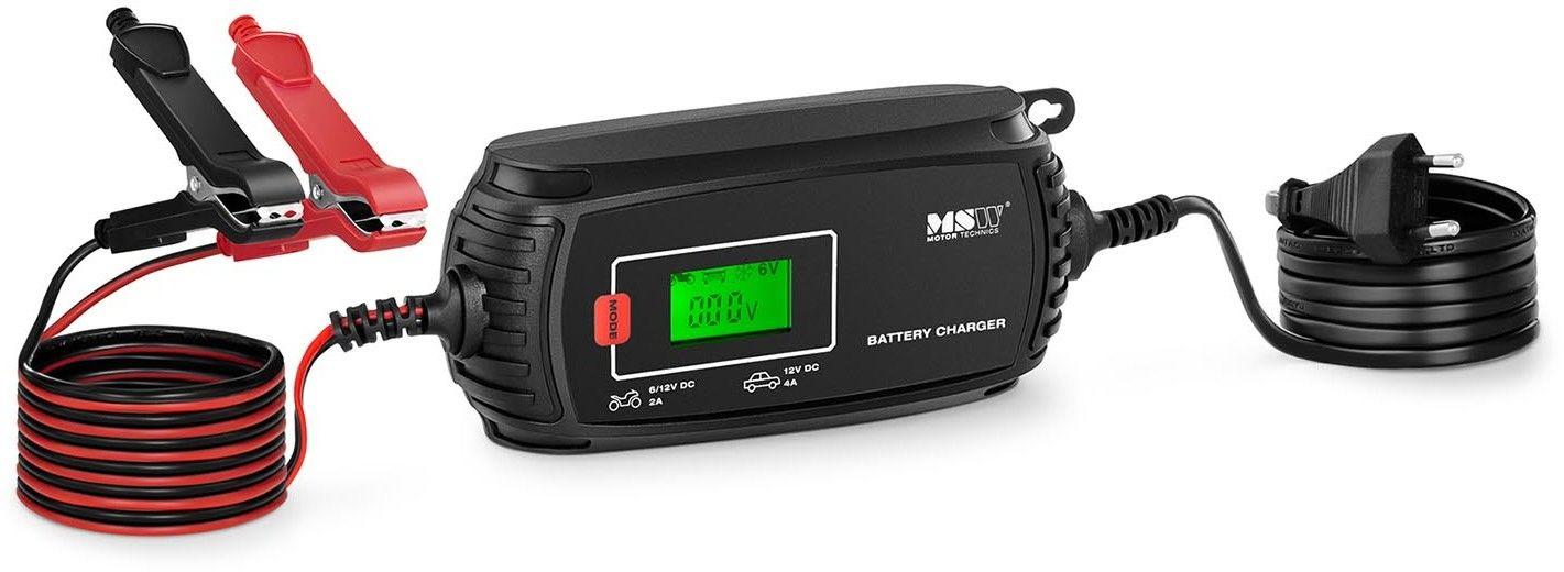 Prostownik - 6/12V - 2/4A - wyświetlacz LCD - MSW - S-CHARGER-MI4A - 3 lata gwarancji/wysyłka w 24h