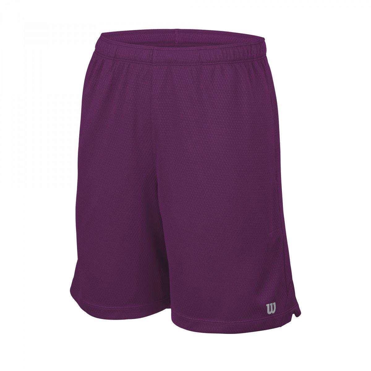 Wilson B Core 7 Knit Short - purple