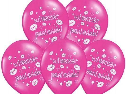 """Balony na Wieczór Panieński - 14"""" - 50 szt."""