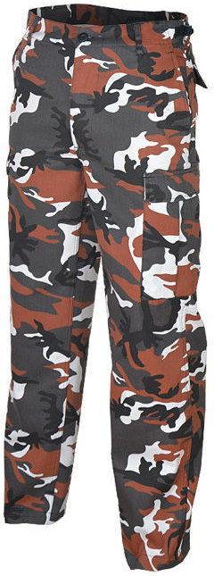 Mil-Tec Spodnie BDU Ranger Red Camo