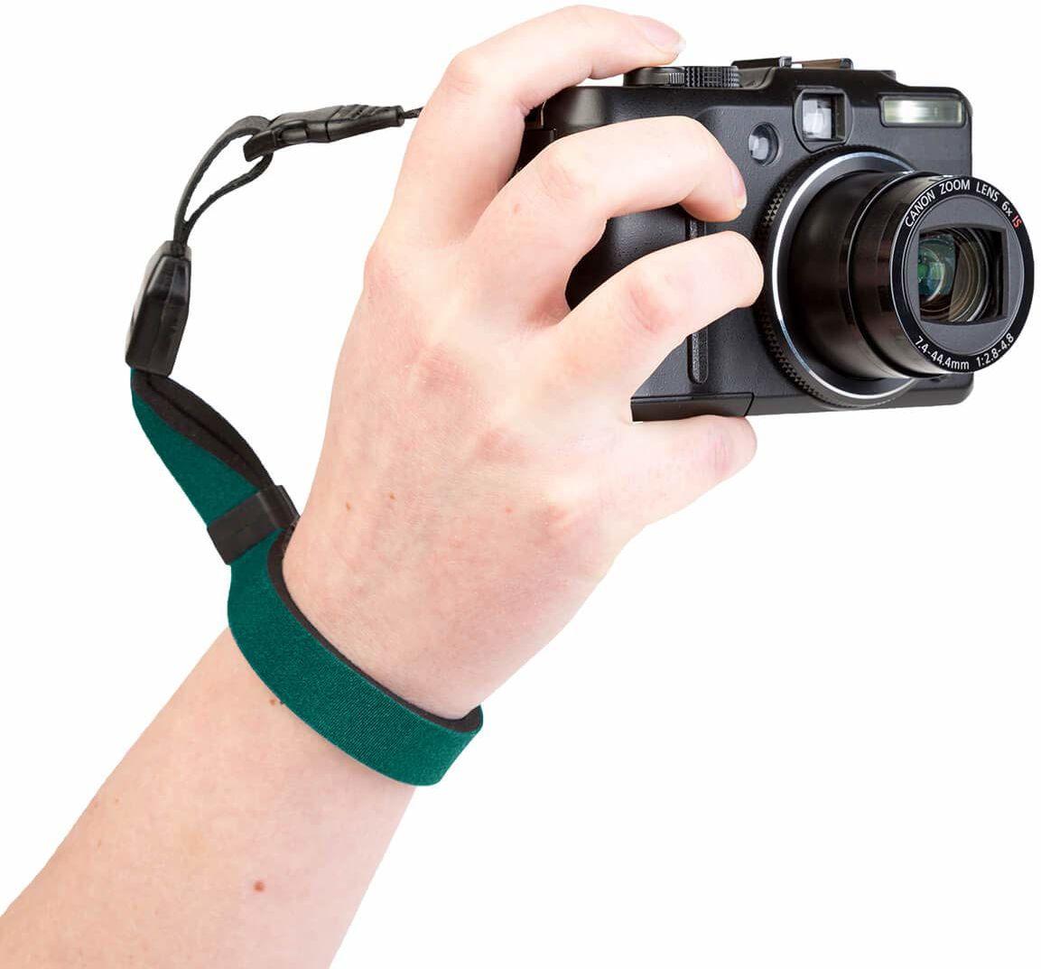 Optech USA 1819021 pasek do noszenia do aparatów cyfrowych, zielony