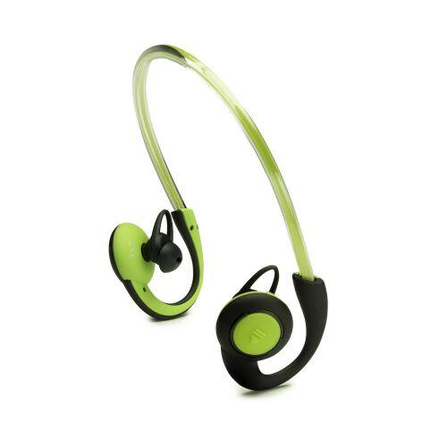 BOOMPODS Słuchawki douszne BT sportowe z oświetleniem zielone