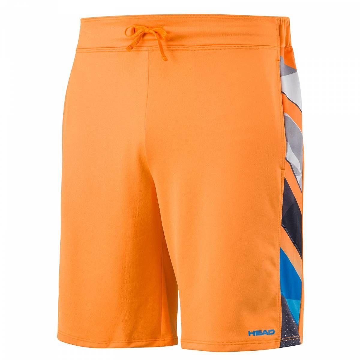 Head Vision Striped Bermuda B - orange