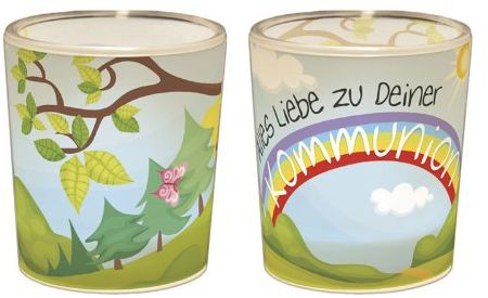 La Vida Świecznik na podgrzewacze, plastik, kolorowy, 6 x 4 cm