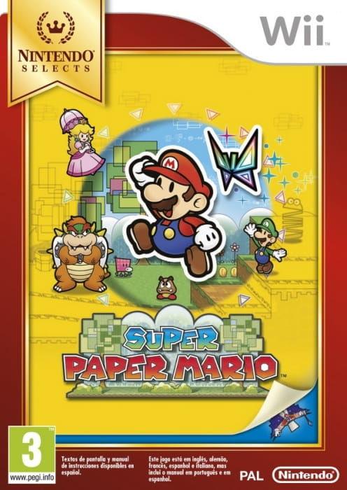 Gra Super Paper Mario Nintendo Selects (Nintendo Wii)