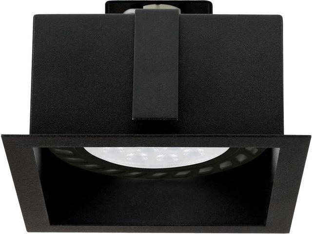 Oprawa wpuszczana Mod 9417 Nowodvorski Lighting kwadratowa oprawa w kolorze czarnym