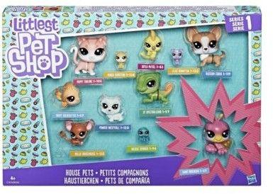 Littlest Pet Shop - Kolekcja 11 zwierzaków Domowi kumple C1674