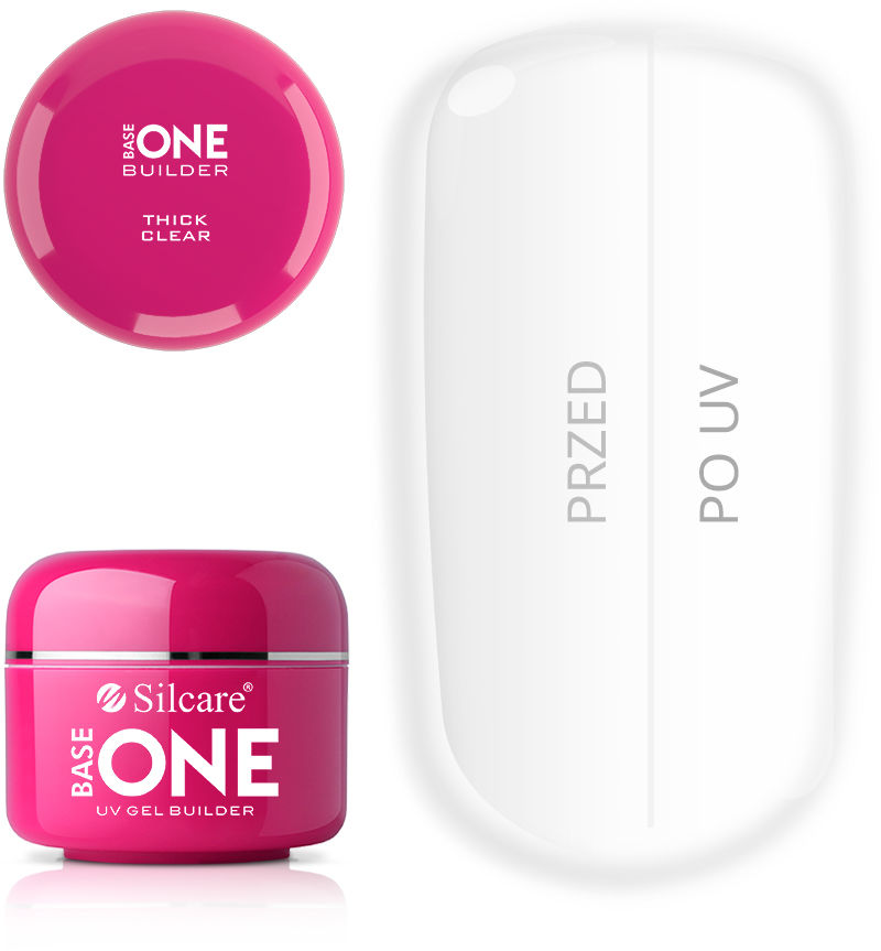 Base One Żel UV Thick Clear 30 g