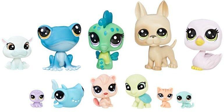 Littlest Pet Shop - Kolekcja 11 zwierzaków Super drużyna C1673
