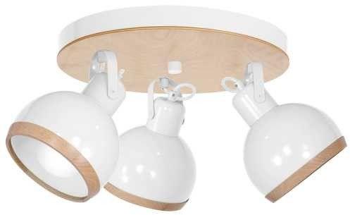 Lampa sufitowa OVAL WHITE 3xE27