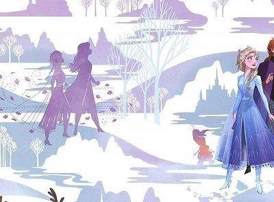 Tapeta frozen kraina lodu disney 108238