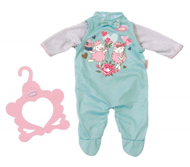 Baby Annabell - Ubranko Pajacyk błękitne 700846 B