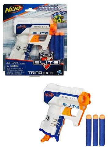 Hasbro Nerf N-Strike Elite - Wyrzutnia Triad EX-3 A1690