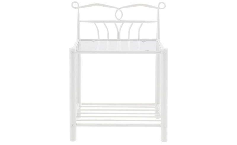 Actona Line biała szafka nocna