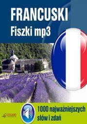Francuski Fiszki mp3 1000 najważniejszych słów i zdań - Audiobook.