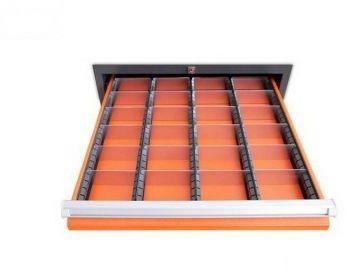 Wkład szuflady typ B do szuflad w wózkach WWT