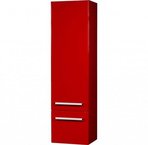 Regał łazienkowy czerwony 40x144cm, Styl Nowoczesny, Gante Fokus