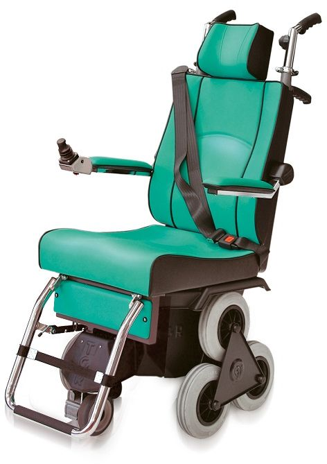 Schodołaz kroczący krzesełkowy z funkcją wózka elektrycznego (TOLLO 120 ELECTRIC)