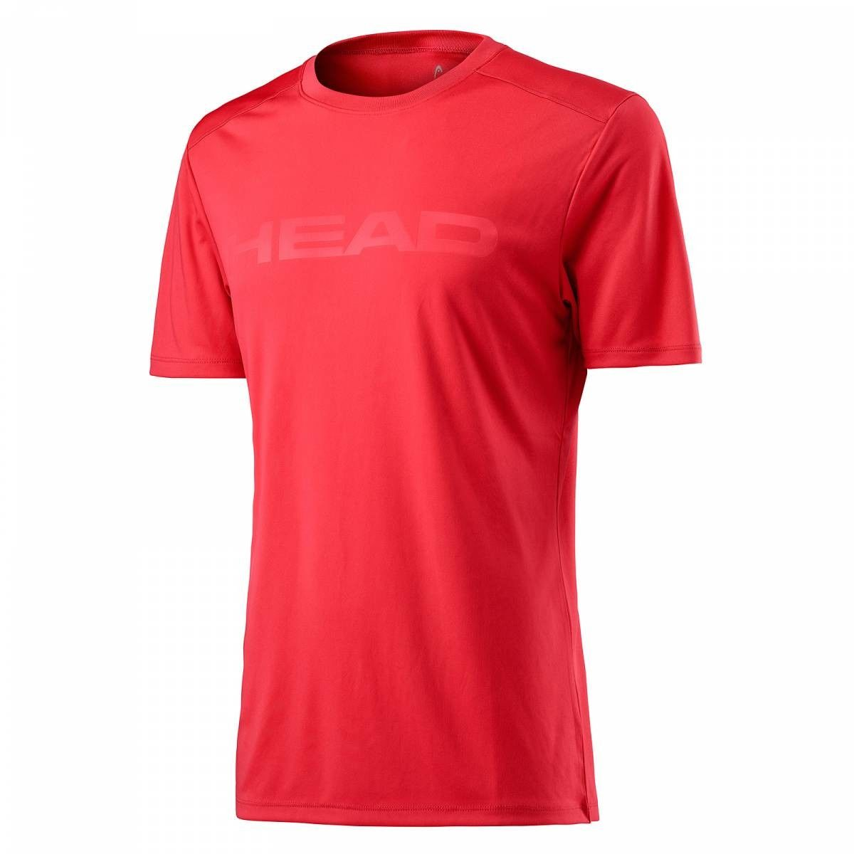 Head Vision Corpo Shirt B - red