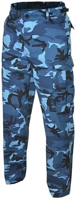 Mil-Tec Spodnie BDU Ranger Blue Camo