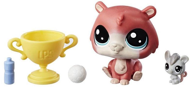 Littlest Pet Shop - Zwierzaki i akcesoria Chomik z myszką E0459