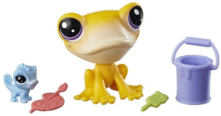 Littlest Pet Shop - Zwierzaki i akcesoria Żaba z kameleonem E0462