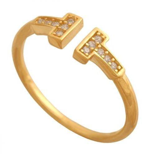 Złoty pierścionek tradycyjny Pn521