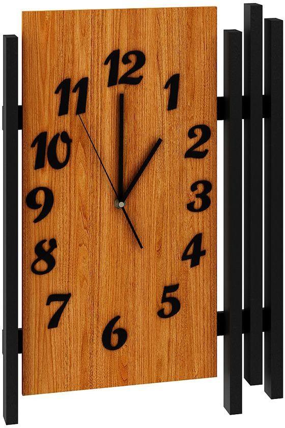 Zegar ścienny drewniany Tempo - dąb