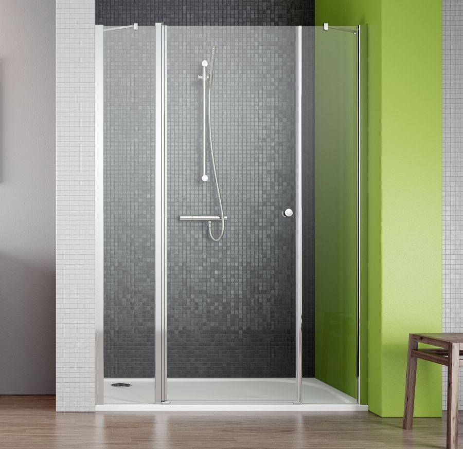 Drzwi wnękowe ze ściankami bocznymi 130 EOS II DWS Radaway (3799455-01L)