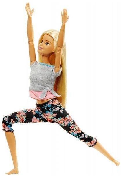 Barbie - Made to Move Kwiecista Barbie Jasny Blond FTG81