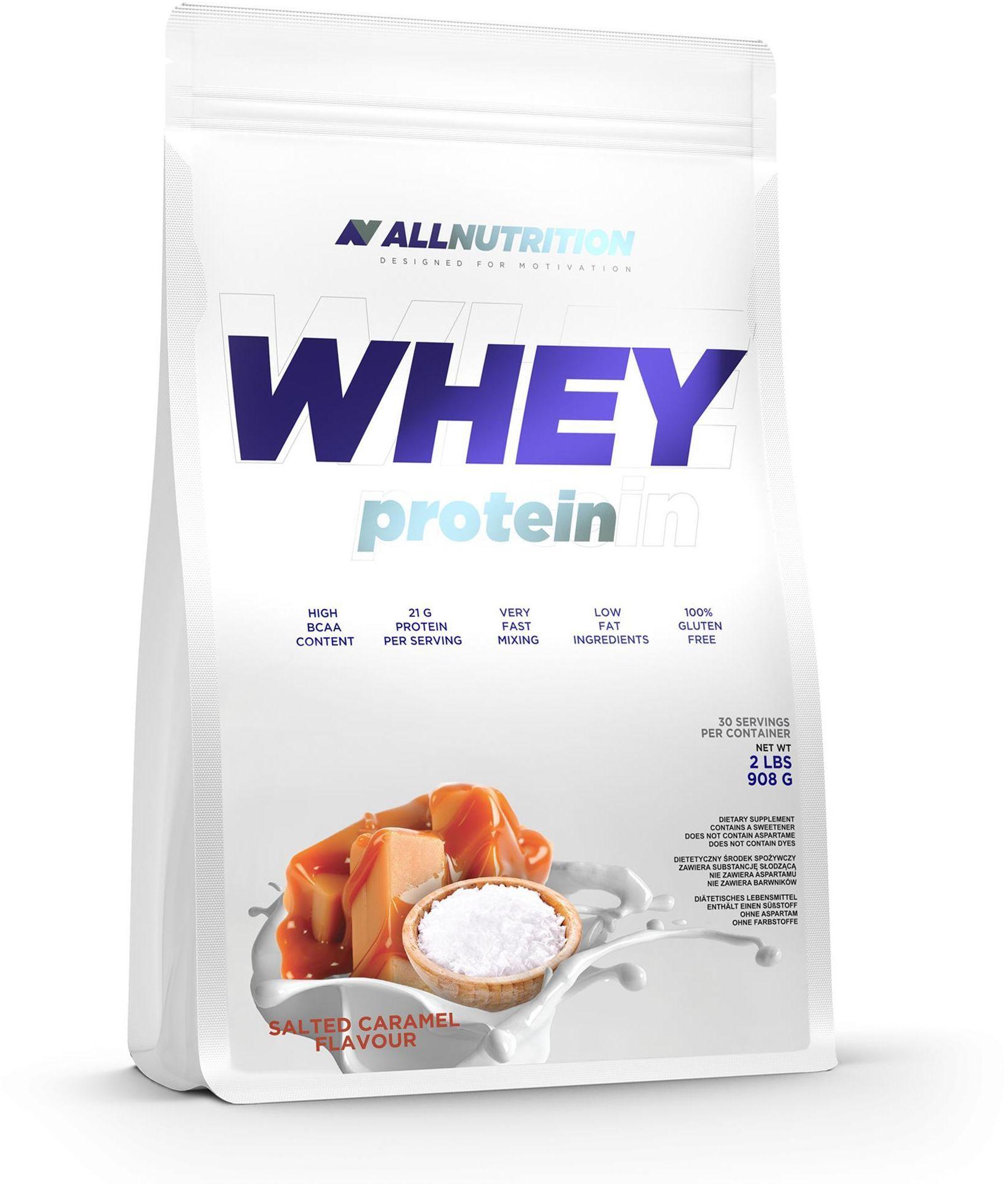 Odżywka białkowa Whey Protein SALTED CARAMEL 908g