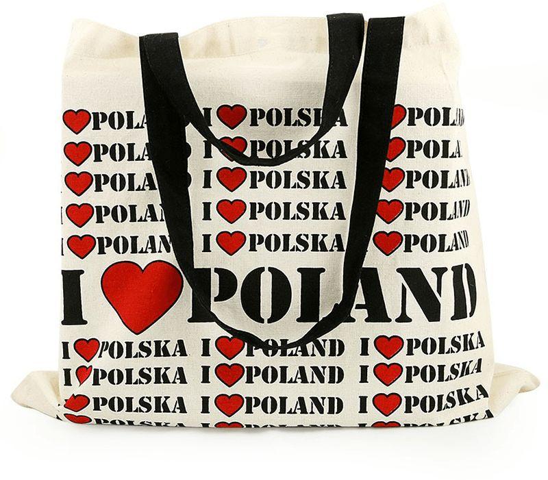 Torba płócienna I LOVE POLAND