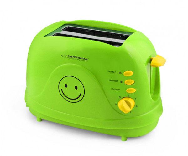 Toster Smiley zielony