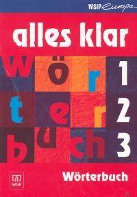Alles Klar Worterbuch Słownik niemiecko-polski do Alles Klar