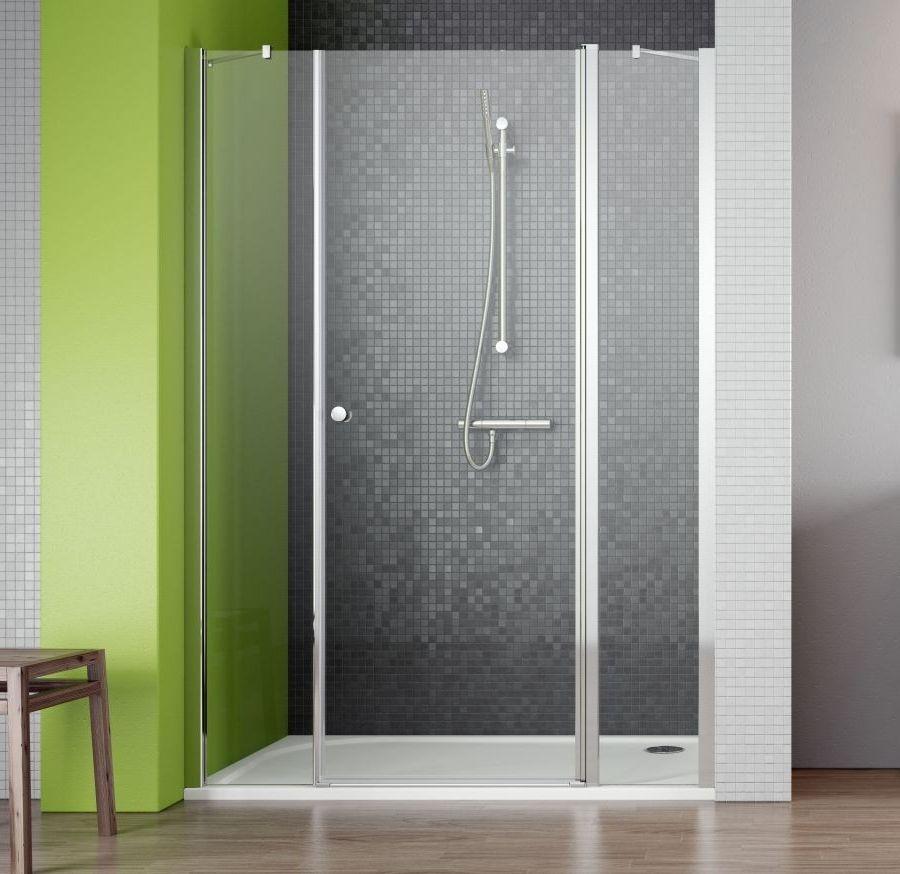 Drzwi wnękowe ze ściankami bocznymi 130 EOS II DWS Radaway (3799455-01R)
